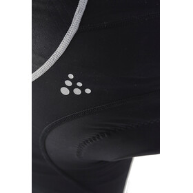 Craft Verve Glow Bib Shorts Men Black